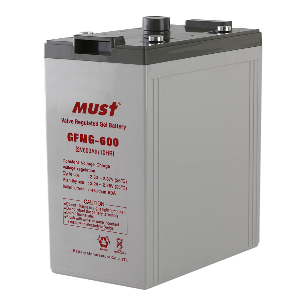 Long Life Gel Sealed Lead Acid Battery GFMG Series 2V
